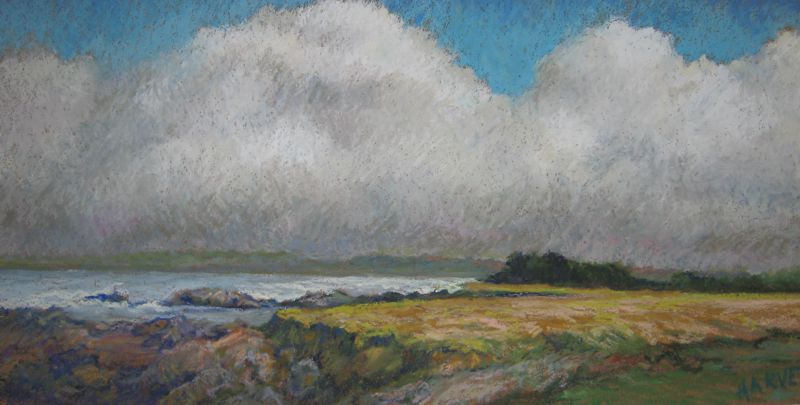 Eleanor Harvey: Storm Over Laguna Point